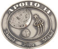 Explorers:Space Exploration, Apollo 14 Flown Silver Robbins Medallion Directly from the Personal Collection of Astronaut John Young, Serial Number 149. ...