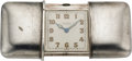 Timepieces:Other , Movado Sterling Purse Watch, circa 1920's. ...