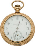 "Timepieces:Pocket (pre 1900) , Hamilton ""Diamond Watch Co."" Private Label Grade 972, circa 1898...."