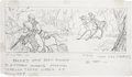 animation art:Production Drawing, Faeries Animated Special Storyboard Drawing Original Art,Group of 60 (1981).... (Total: 60 Items)