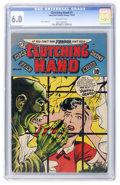 Golden Age (1938-1955):Horror, Clutching Hand #1 (ACG, 1954) CGC FN 6.0 Off-white pages....
