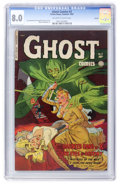Golden Age (1938-1955):Horror, Ghost #3 Aurora pedigree (Fiction House, 1952) CGC VF 8.0 Off-whiteto white pages....