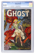 Golden Age (1938-1955):Horror, Ghost #4 Aurora pedigree (Fiction House, 1952) CGC VF 8.0 Off-whiteto white pages....