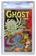 Golden Age (1938-1955):Horror, Ghost #5 Bethlehem pedigree (Fiction House, 1952) CGC VF+ 8.5Off-white pages....