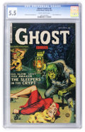 Golden Age (1938-1955):Horror, Ghost #6 (Fiction House, 1953) CGC FN- 5.5 Slightly brittlepages....