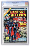 Bronze Age (1970-1979):Horror, Giant-Size Chillers #1 (Marvel, 1974) CGC NM- 9.2 Off-white towhite pages....