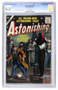 Silver Age (1956-1969):Horror, Astonishing #61 (Atlas, 1957) CGC FN+ 6.5 Off-white pages....