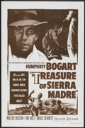 "Movie Posters:Drama, The Treasure of the Sierra Madre (Dominant Pictures Corp., R-1956).One Sheet (27"" X 41""). Drama.. ..."