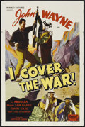 "Movie Posters:Action, I Cover the War (Realart, R-1948). One Sheet (27"" X 41""). Action.. ..."