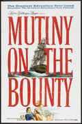 """Movie Posters:Adventure, Mutiny on the Bounty (MGM, 1962). One Sheet (27"""" X 41"""") AdvanceStyle A. Adventure.. ..."""