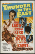"""Movie Posters:Adventure, Thunder in the East (Paramount, 1953). One Sheet (27"""" X 41"""").Adventure.. ..."""
