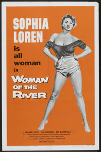 "Woman of the River (Columbia, 1957). One Sheet (27"" X 41""). Drama"