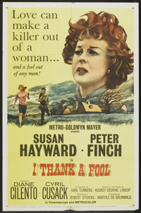 "I Thank a Fool (MGM, 1962). One Sheet (27"" X 41""). Drama"