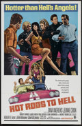 "Movie Posters:Cult Classic, Hot Rods to Hell (MGM, 1967). One Sheet (27"" X 41""). Cult Classic....."
