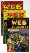 Golden Age (1938-1955):Horror, Web of Mystery #12, 15 and 25 Group (Ace, 1952-54).... (Total: 3Comic Books)