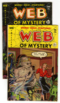 Golden Age (1938-1955):Horror, Web of Mystery #7 and 10 Group (Ace, 1952) Condition: AverageFN.... (Total: 2 Comic Books)