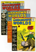 Silver Age (1956-1969):Horror, Unknown Worlds Group (ACG, 1960-67) Condition: Average VG+....(Total: 14 Comic Books)