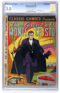 Golden Age (1938-1955):Classics Illustrated, Classic Comics #3 The Count of Monte Cristo - Original Edition (Elliot Publications, 1942) CGC GD/VG 3.0 Cream to off-white pa...