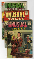 Silver Age (1956-1969):Science Fiction, Unusual Tales Group (Charlton, 1956-62).... (Total: 6 Comic Books)