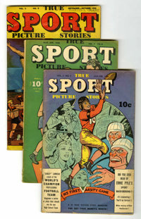 True Sport Picture Stories Group (Street & Smith, 1946-49) Condition: Average VG+.... (Total: 15 Comic Books)