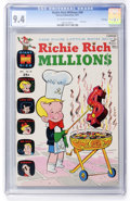 Bronze Age (1970-1979):Cartoon Character, Richie Rich Millions #49 File Copy (Harvey, 1971) CGC NM 9.4Off-white to white pages....