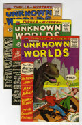 Silver Age (1956-1969):Horror, Unknown Worlds Group - Circle 8 pedigree (ACG, 1961-67) Condition:Average FN/VF.... (Total: 24 Comic Books)
