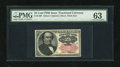 Fractional Currency:Fifth Issue, Fr. 1309 25c Fifth Issue PMG Choice Uncirculated 63....