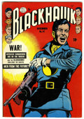 Golden Age (1938-1955):War, Blackhawk #47 (Quality, 1951) Condition: VF-....