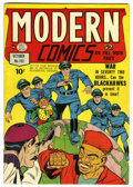 Golden Age (1938-1955):War, Modern Comics #102 (Quality, 1950) Condition: FN+....