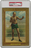 """Boxing Cards:General, 1911 T9 Turkey Red Cabinets Jack Sullivan #56 PSA EX 5. One-timeWorld Champion Jack """"Twin"""" Sullivan, twin brother of Mike ..."""