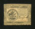 Colonial Notes:Continental Congress Issues, Continental Currency May 9, 1776 $5 Fine....