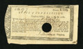 Colonial Notes:Connecticut, Connecticut Treasury-Office £16, 17 Shillings, 7 Pence June 1, 1782Very Fine....