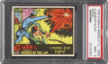 "Non-Sport Cards:Singles (Pre-1950), 1936 R60 G-Men & Heroes of The Law #262 ""A Murder Blast Defied""(Scarce) PSA MINT 9 - Pop 1-of-1 With None Higher...."