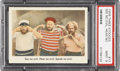"Non-Sport Cards:Singles (Post-1950), 1959 Fleer, Three Stooges #17 ""See No Evil, Hear No Evil"" PSA MINT9...."