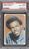 Non-Sport Cards:Singles (Post-1950), 1969 Topps Test Room 222-Color #41 Jason Allen PSA NM-MT 8 - RareColor Photo Variety....