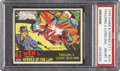 "Non-Sport Cards:Singles (Pre-1950), 1936 Gum Inc. G-Men & Heroes of the Law #210 ""Tracking a LivingDead Man"" PSA NM-MT 8...."