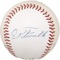 Autographs:Baseballs, Carl Furillo Single Signed Baseball....