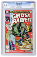 Modern Age (1980-Present):Superhero, Ghost Rider #57 (Marvel, 1981) CGC NM/MT 9.8 Off-white to whitepages....