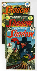 Bronze Age (1970-1979):Miscellaneous, The Shadow #1-12 Group (DC, 1972-75) Condition: Average FN....(Total: 12 Comic Books)