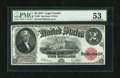 Fr. 60 $2 1917 Legal Tender PMG About Uncirculated 53