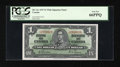 Canadian Currency: , BC-21c $1 1937 Wide Signature Panel Variety.. ...