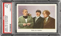 "Non-Sport Cards:Singles (Post-1950), 1959 Fleer Three Stooges #34 ""Birds of a Feather"" PSA Mint 9...."