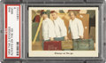 Non-Sport Cards:Singles (Post-1950), 1959 Fleer Three Stooges #49 Always On The Go PSA Mint 9....