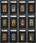 Baseball Cards:Sets, 1911 T205 Gold Border Collection (71 Different) - Including HoFersand Scarcities. ...