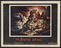 "Movie Posters:Documentary, The Animal World (Warner Brothers, 1956). Lobby Card Set of 8 (11"" X 14""). Documentary.. ... (Total: 8 Items)"