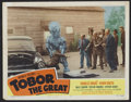"Movie Posters:Science Fiction, Tobor the Great (Republic, 1954). Lobby Card (11"" X 14""). ScienceFiction.. ..."