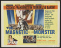 "Movie Posters:Science Fiction, The Magnetic Monster (United Artists, 1953). Lobby Card Set of 8 (11"" X 14""). Science Fiction.. ... (Total: 8 Items)"