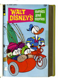 Bronze Age (1970-1979):Cartoon Character, Walt Disney's Comics and Stories #385-396 Bound Volume (Gold Key, 1972-73)....