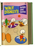Bronze Age (1970-1979):Cartoon Character, Walt Disney's Comics and Stories #373-384 Bound Volume (Gold Key,1971-72)....