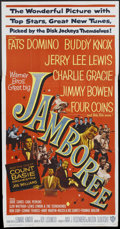 """Movie Posters:Rock and Roll, Jamboree (Warner Brothers, 1957). Three Sheet (41"""" X 81""""). Rock andRoll.. ..."""